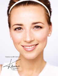 Karine Vanasse for Marcelle Cosmetics 2013 Campaign (Mixed Quality)