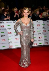 Gillian Taylforth - 21st National Television Awards @ The O2 Arena in London - 01/20/16