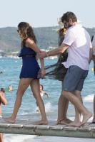 Nina Dobrev with her boyfriend Austin Stowell in Saint-Tropez (July 24) RW1Pwl2j