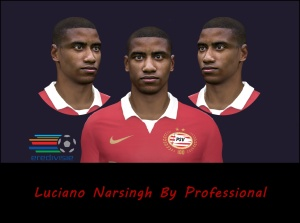 Download PES 2014 Luciano Narsingh Face by Professional
