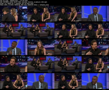 AJ Cook - Arsenio Hall - 2-4-14