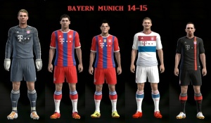 Download Bayern 14-15 with fifa badge in home by Joserra77