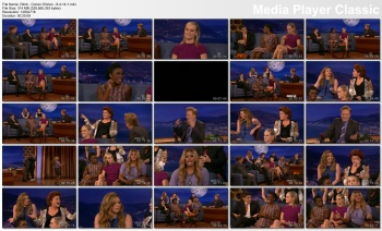 Orange Is The New Black cast - Conan O'Brien - 8-4-14 (Taylor Schilling, Natasha Lyonne +)