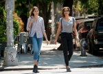 Teri Hatcher and her daughter Go shopping in the East Village, New York August 14-2015 x7