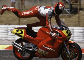 Randy Mamola, Cagiva 500, 1998