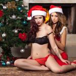 Gatas QB - Elizabeth Marxs e Ali Rose | Santa Baby | Edição Especial | Playboy