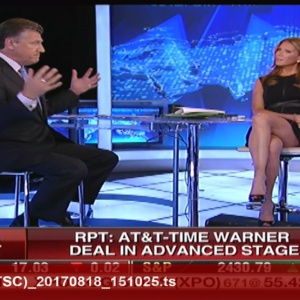 Trish Regan WOW Thighs  Captures
