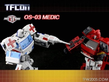 [TFC Toys] Produit Tiers - OS-01 Ironwill (aka Ironhide/Rhino) & OS-03 Medic (aka Ratchet/Mécano) Nb01NBNo