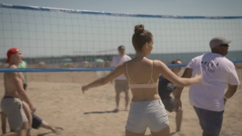 Barbara Palvin - Sexy Beach Volleyball Tournament - Sports Illustrated (2016) | HD 1080p