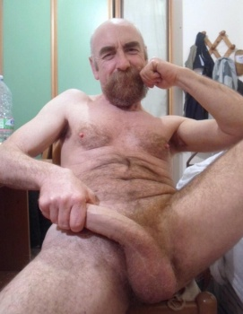 nude old uncut man porn