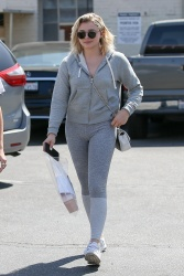 Chloe Moretz Out in Beverly Hills - 7/25/17