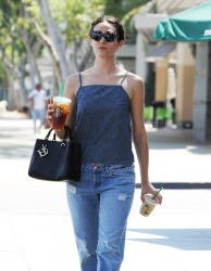 Emmy Rossum - Going to Starbucks in West Hollywood 6/30/15