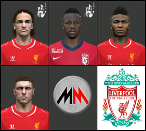 Download Liverpool Facepack by MarioMilan