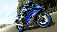 2013 Yamaha YZF-R6 race-blu