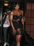 Serena Williams - Steps out of the Bowery Hotel in New York City December 15-2015 x12