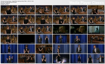 Emma Stone - Tonight Show starring Jimmy Fallon - 4-28-14
