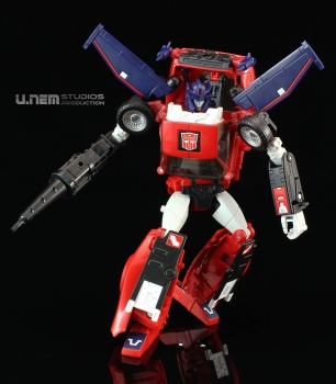 [Masterpiece] MP-25L LoudPedal (Rouge) + MP-26 Road Rage (Noir) ― aka Tracks/Le Sillage Diaclone - Page 2 AAmPwryw