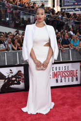 Dascha Polanco - Mission Impossible: Rogue Nation Premiere in NYC 7/27/15