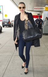 Miranda Kerr - at JFK Airport in NYC 3/1/13