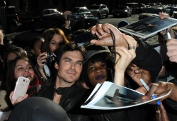 Ian Somerhalder - Arriving at Live with Kelly and Michael in NYC (March 13, 2013) - 18xHQ YIy8jbPF