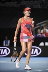 Kristina Mladenovic - 2016 Australian Open Women's Singles Third Round @ Melbourne Park in Melbourne - 01/22/16