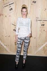 January Jones - 'Isabel Marant for H&M' photocall in Paris 10/24/13