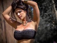 Дениз Милани, фото 5617. Denise Milani Summer skirt :, foto 5617