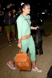 Lily Allen - Arriving at Kate Hudson's Halloween Bash in Brentwood October 30 2014