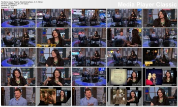 Laura Prepon - Big Morning Buzz - 6-11-14 (long legs in black hose)