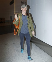 Juliette Lewis - At LAX Airport 2/2/17