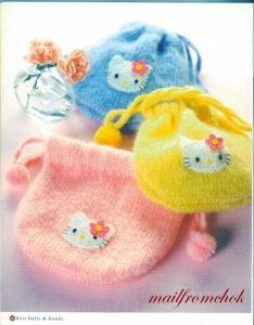 Hello Kitty!  Вяжем японскую кошечку.  Отличный журнал со схемами (38) (546x700, 286Kb) .