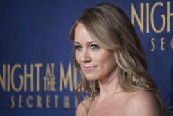 Christine Taylor 'Night At The Museum Secret Of The Tomb' New York premiere 12/11/2014 10