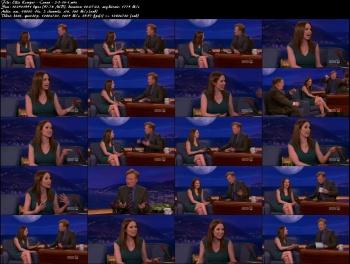 Ellie Kemper - Conan O'Brien - 2-3-14