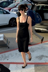 Paz Vega - Arriving ahead of the 72nd Venice Film Festival @ Venice Airport - 09/01/15