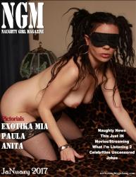 Link to Exotika Mia – Naughty Girl Magazine January 2017 USA