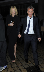 Sean Penn - Charlize Theron and Sean Penn - seen leaving Royal Festival Hall. London - February 16, 2015 (153xHQ) 1nG6aZuA