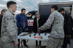Scarlett Johansson - Incirlik Air Base Visit in Adana - 12/07/16