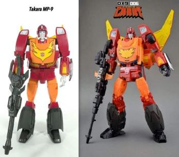 [DX9 Toys] Produit Tiers - Jouet D-06 Carry aka Rodimus et D-06T Terror aka Black Rodimus U9s4FyJY