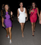 Tulisa Contostavlos - Night out in Ibiza - 12-07-2013