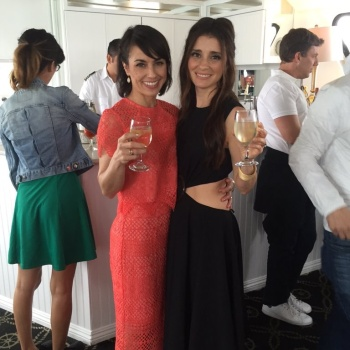 "Shiri Appleby -  ""UnREAL"" Group Date And Champagne Brunch Aboard Dandeana Yacht"