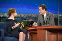 Rachel Bloom - The Late Show with Stephen Colbert: January 18th 2017