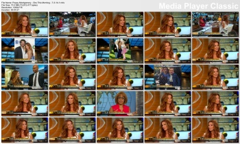Poppy Montgomery - CBS This Morning - 7-3-14