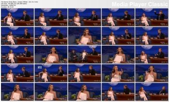 Emily Blunt - Conan O'Brien - 6-4-14