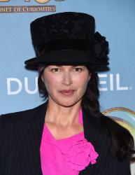 Karina Lombard - Opening Night of Cirque Du Soleil's KURIOS - Cabinet of Curiosities @ Dodger Stadium in Los Angeles - 12/09/15