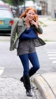 Джессика Честейн, фото 2275. Jessica Chastain On the set of 'The Disappearance of Eleanor Rigby' in New York City - July 13, 2012, foto 2275