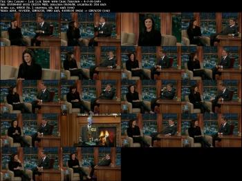 Gina Carano - Late Late Show with Craig Ferguson - 4-7-14