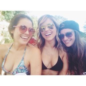 Sophia Bush Bikini Instagram Pic - July 4, 2014
