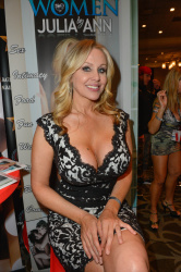 Julia Ann - AVN Adult Entertainment Expo 2016 Day Two @ Hard Rock Hotel & Casino in Las Vegas - 01/21/16