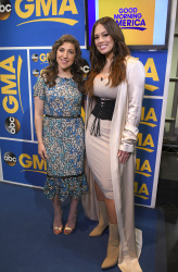 Mayim Bialik - Good Morning America: May 9th 2017