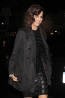 Camilla Belle - leaving Chi Lin Restaurant West Hollywood - 03/01/14